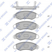 Тормозные колодки HI-Q SP1598