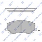 Тормозные колодки HI-Q SP1671