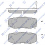 Тормозные колодки HI-Q SP1777