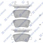 Тормозные колодки HI-Q SP1845