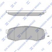 Гальмівні колодки HI-Q SP2040