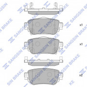 Тормозные колодки HI-Q SP4140