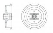 Тормозной барабан HI-Q SD3036