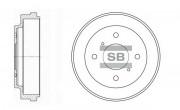Тормозной барабан HI-Q SD4212