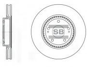 Тормозной диск HI-Q SD1005