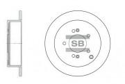 Тормозной диск HI-Q SD1052