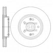 Тормозной диск HI-Q SD1086
