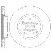 Тормозной диск HI-Q SD3042
