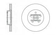 Тормозной диск HI-Q SD4001