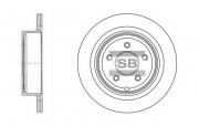 Тормозной диск HI-Q SD4209