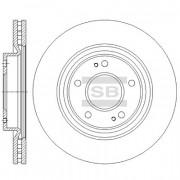 Гальмівний диск HI-Q SD4336