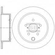 Тормозной диск HI-Q SD4708