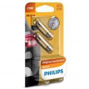 Комплект ламп накаливания Philips Vision 12844B2 (C5W)