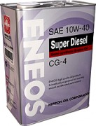 Моторное масло Eneos Super Diesel CG-4 10W-40 Semi-synthetic