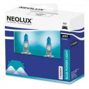 Комплект галогенных ламп Neolux Blue Power Light N448HC-SCB (H1)