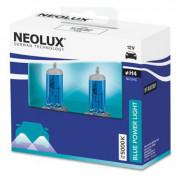 Комплект галогенных ламп Neolux Blue Power Light N472HC-SCB (H4)