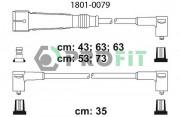 Комплект высоковольтных проводов зажигания PROFIT 1801-0079