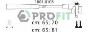 Комплект высоковольтных проводов зажигания PROFIT 1801-0105