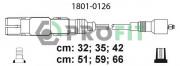 Комплект высоковольтных проводов зажигания PROFIT 1801-0126