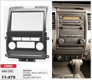 Переходная рамка Carav 11-479 для Suzuki Equator / Nissan Xterra, Frontier, 2 DIN