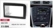 Переходная рамка Carav 11-586 для Volvo S80 1999-2005, 2 DIN