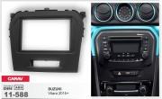 Переходная рамка Carav 11-588 для Suzuki Vitara 2015+, 2 DIN