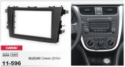 Переходная рамка Carav 11-596 для Suzuki Celerio 2014+, 2 DIN