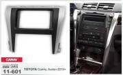 Переходная рамка Carav 11-601 для Toyota Aurion, Camry, 2 DIN