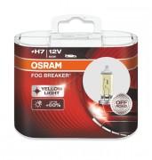 Комплект галогенных ламп Osram Fog Breaker 62210FBR-HCB Duobox +60% (H7)
