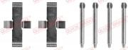 Монтажний комплект гальмівних колодок QUICK BRAKE 109-1037