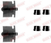 Монтажний комплект гальмівних колодок QUICK BRAKE 109-1084