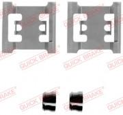 Монтажний комплект гальмівних колодок QUICK BRAKE 109-1145