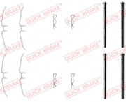 Монтажний комплект гальмівних колодок QUICK BRAKE 109-0901