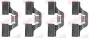 Монтажный комплект тормозных колодок QUICK BRAKE 109-1211
