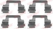 Монтажный комплект тормозных колодок QUICK BRAKE 109-1610