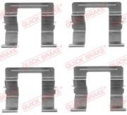 Монтажный комплект тормозных колодок QUICK BRAKE 109-1605