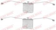 Монтажный комплект тормозных колодок QUICK BRAKE 109-1639