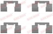 Монтажный комплект тормозных колодок QUICK BRAKE 109-1732