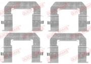 Монтажний комплект гальмівних колодок QUICK BRAKE 109-1776