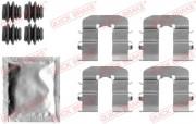 Монтажний комплект гальмівних колодок QUICK BRAKE 109-1814