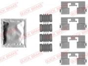 Монтажный комплект тормозных колодок QUICK BRAKE 109-1818