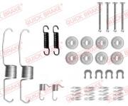 Монтажный комплект тормозных колодок QUICK BRAKE 105-0637