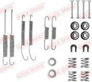 Монтажний комплект гальмівних колодок QUICK BRAKE 105-0718