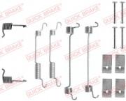 Монтажный комплект тормозных колодок QUICK BRAKE 105-0735