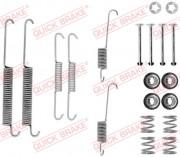 Монтажный комплект тормозных колодок QUICK BRAKE 105-0754