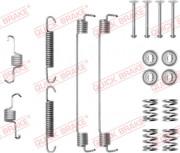 Монтажный комплект тормозных колодок QUICK BRAKE 105-0819