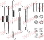 Монтажный комплект тормозных колодок QUICK BRAKE 105-0824