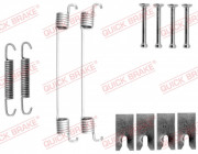 Монтажный комплект тормозных колодок QUICK BRAKE 105-0827
