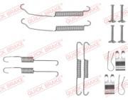 Монтажный комплект тормозных колодок QUICK BRAKE 105-0882