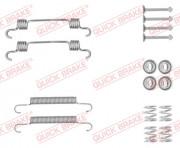 Монтажный комплект тормозных колодок QUICK BRAKE 105-0887